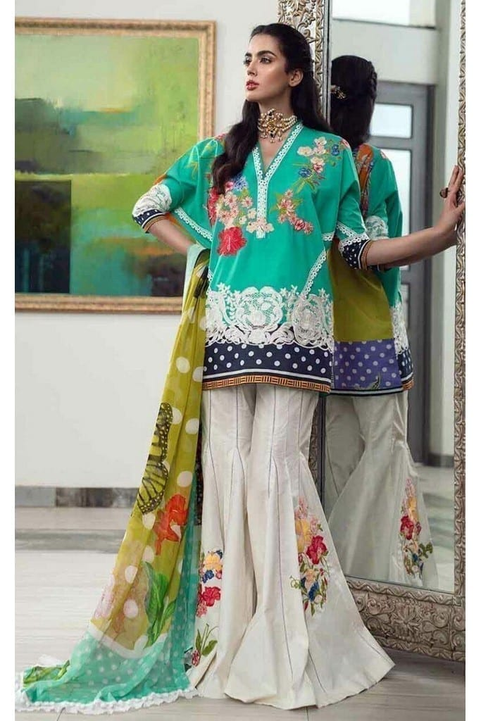 ASIFA N NABEEL | LUXURY LAWN Collection | 3-P SWEET SUCCESS