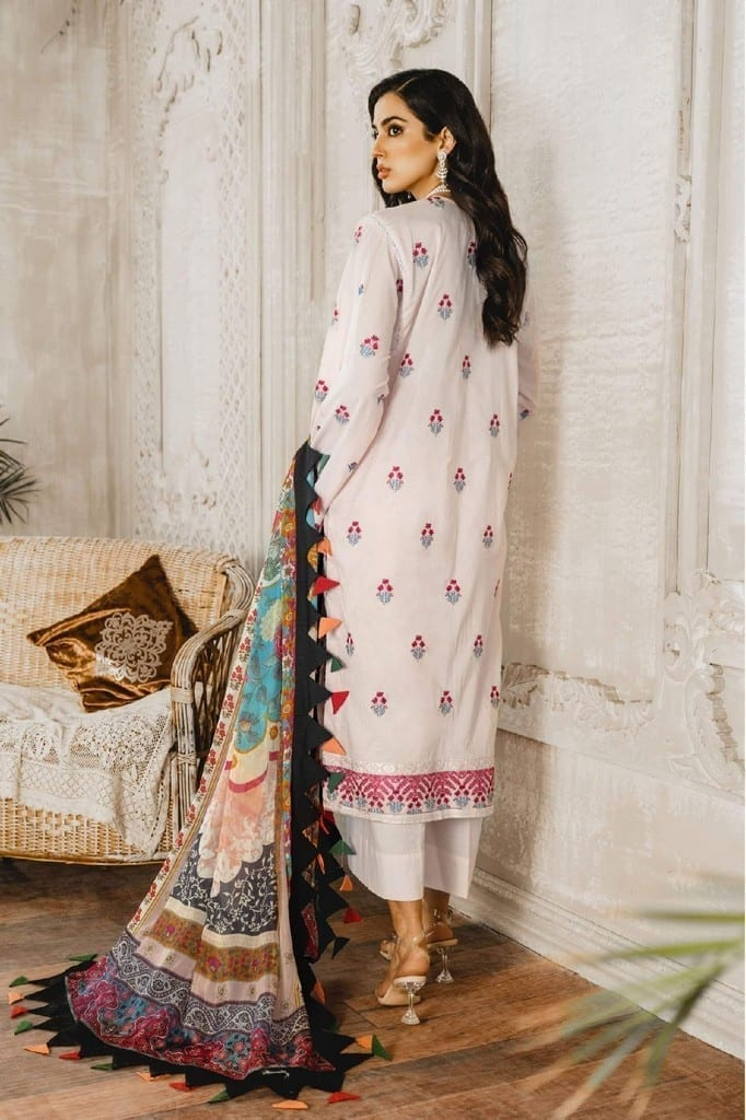 MARYUM N MARIA | Embroidered Lawn | Hasil Lome (ML-06)
