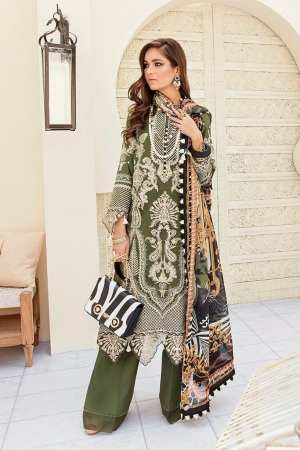 AFROZEH   LUXURY SUMMER Collection   LEAFY GREENS