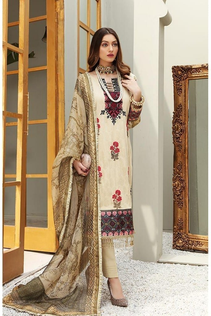 "ALZOHAIB | AZ 'FESTIVE HUES' PREMIUM COLLECTION'2021 | FHPC'21-06 ""Flaxen"""