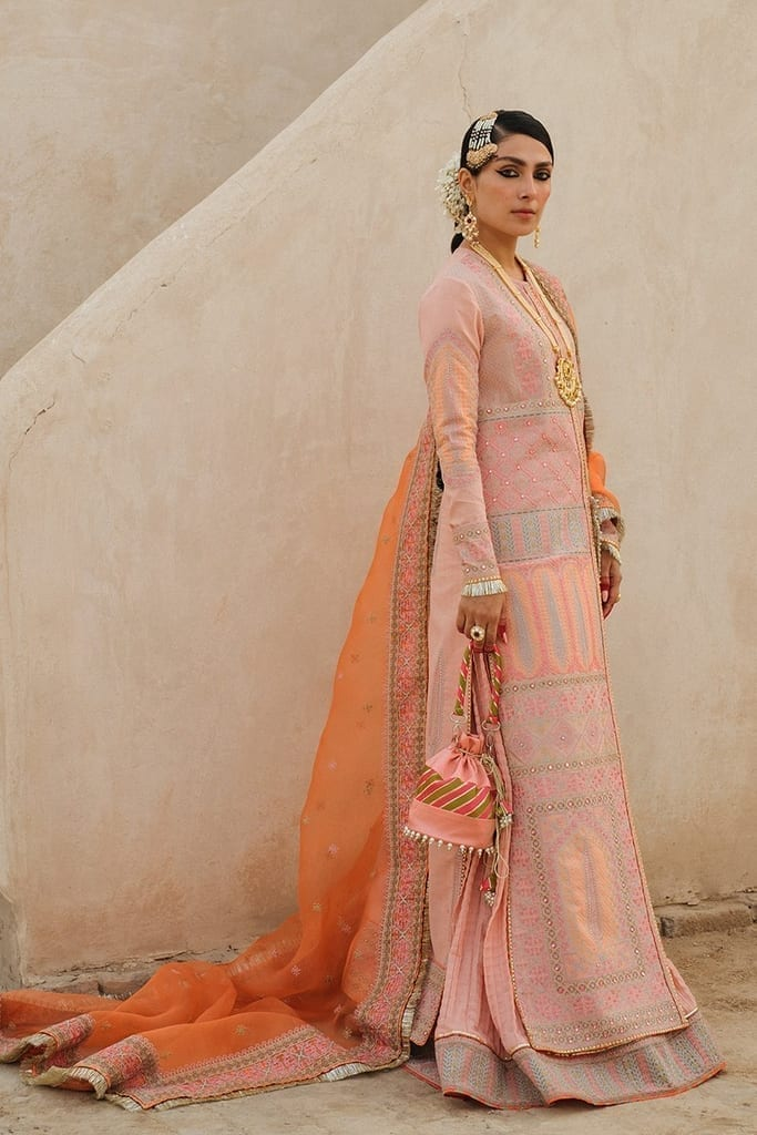 HUSSAIN REHAR | ROOHI DE NAAL Collection | Kali (Light Pink)