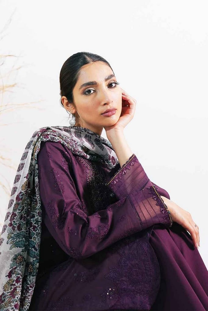 ZARA SHAHJAHAN | Embroidered Lawn Suits | ARJUMAND-A