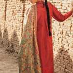TENA DURRANI | Embroidered Lawn Suits | Flame