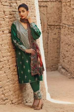 TENA DURRANI | Embroidered Lawn Suits | Ming