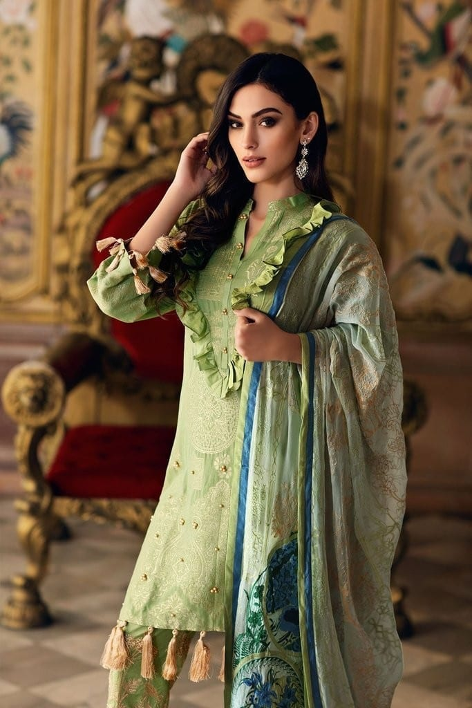 CHARIZMA | EMBROIDERED LAWN JACQUARD Collection | J-04