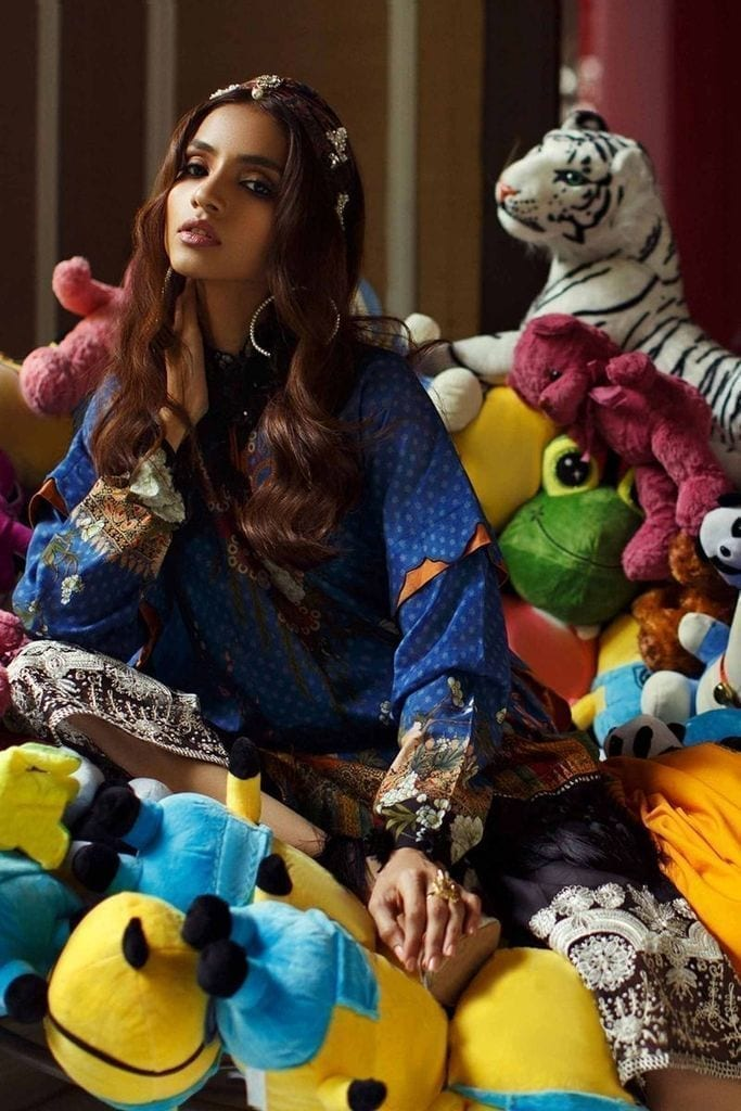 SANA SAFINAZ | MAHAY LAWN Collection | 5A