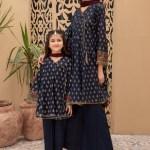 MARIA B | MOMMY N ME | READY TO WEAR | Suit Blue MKD-EF21-01