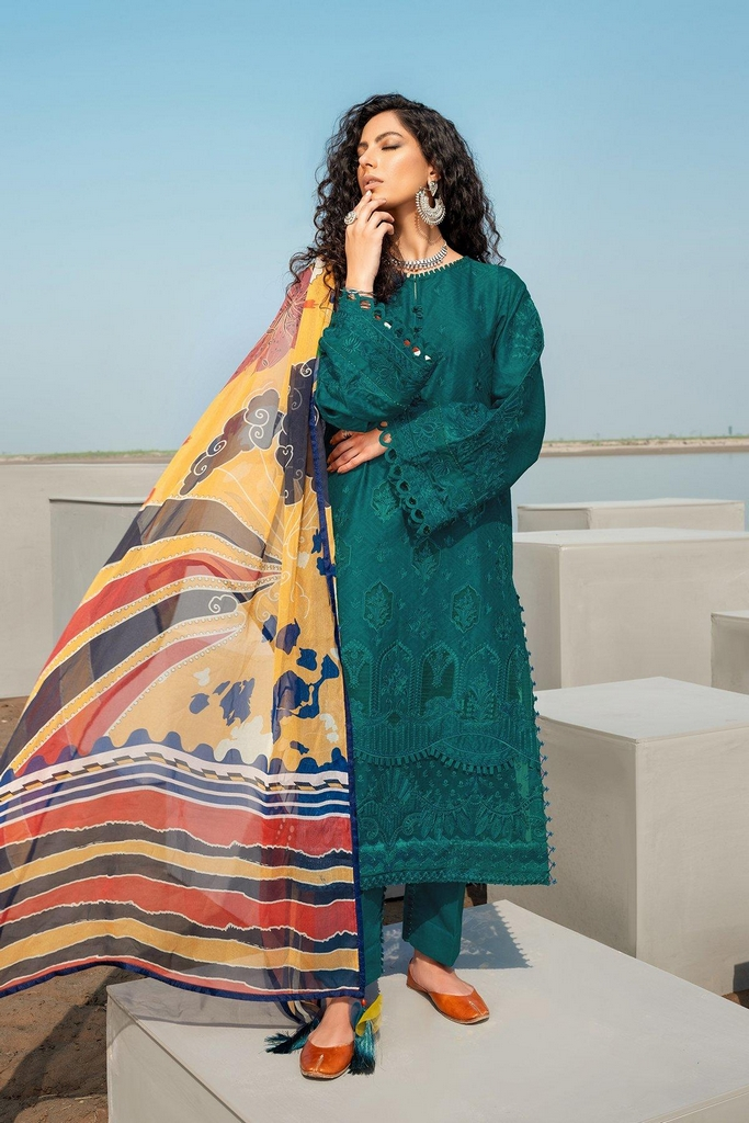 BAROQUE | EID SUMMER COLLECTION 2021 | 11 Gentian