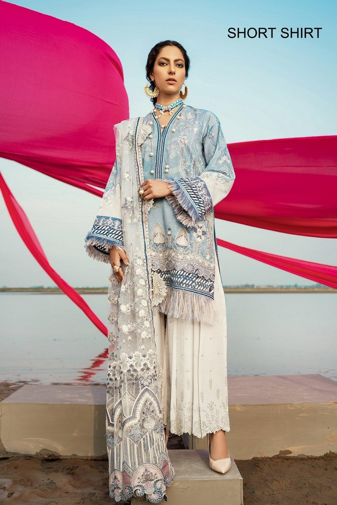 BAROQUE | EID SUMMER COLLECTION 2021 | 01 Salvia