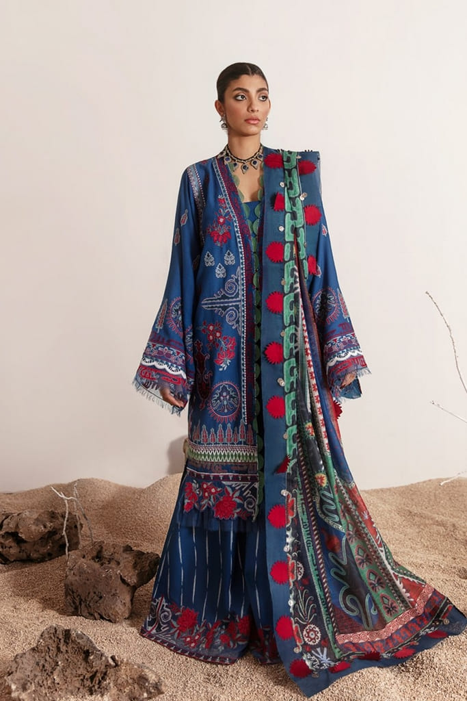 REPUBLIC WOMENWEAR | LUXURY LAWN Collection | MAYRA-B