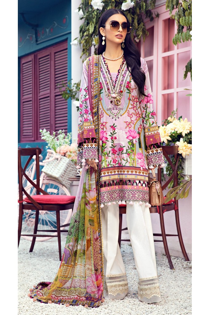 ANAYA | LAWN'21 Collection | LEENA-08-B