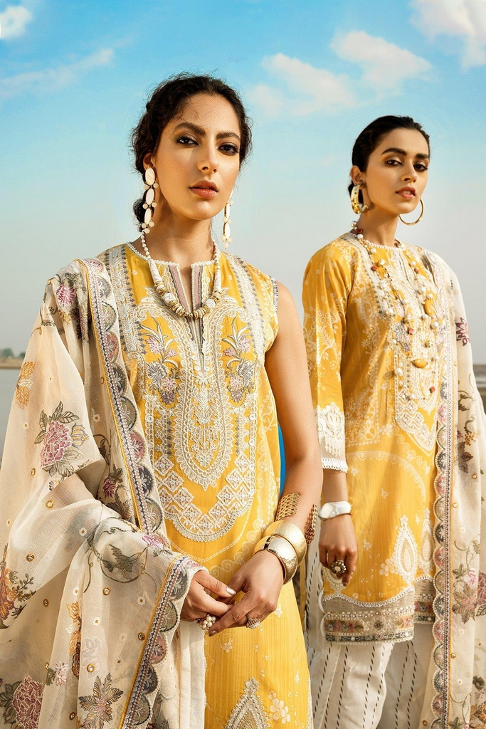 BAROQUE | EID SUMMER COLLECTION 2021 | 07 Allysum