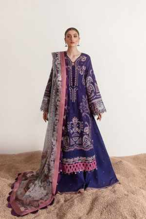 REPUBLIC WOMENWEAR | LUXURY LAWN Collection | ADIVA-A