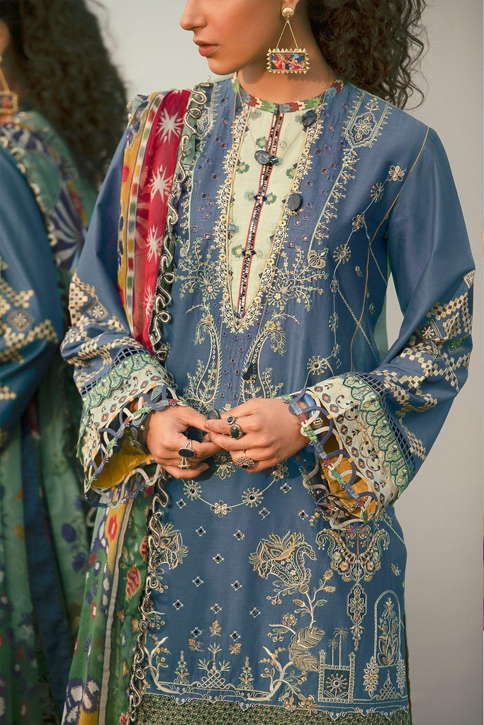 BAROQUE | EID SUMMER COLLECTION 2021 | 08 Leadwort