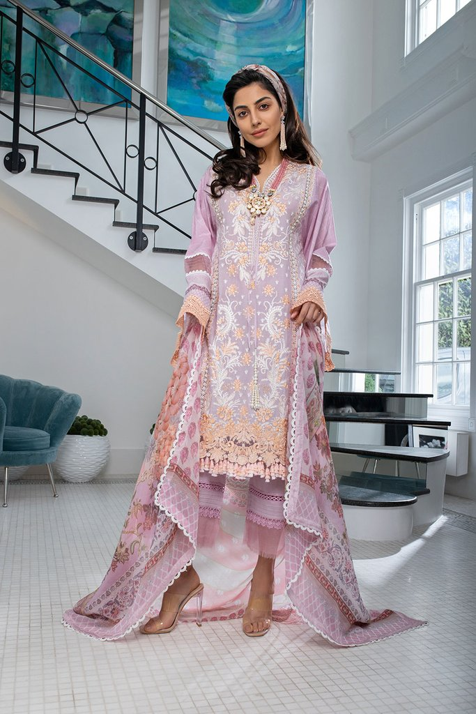 SOBIA NAZIR | LUXURY LAWN Collection | DESIGN 7B
