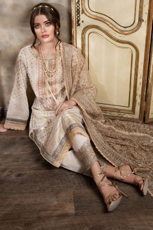 SOBIA NAZIR | LUXURY  LAWN Collection | DESIGN 8A