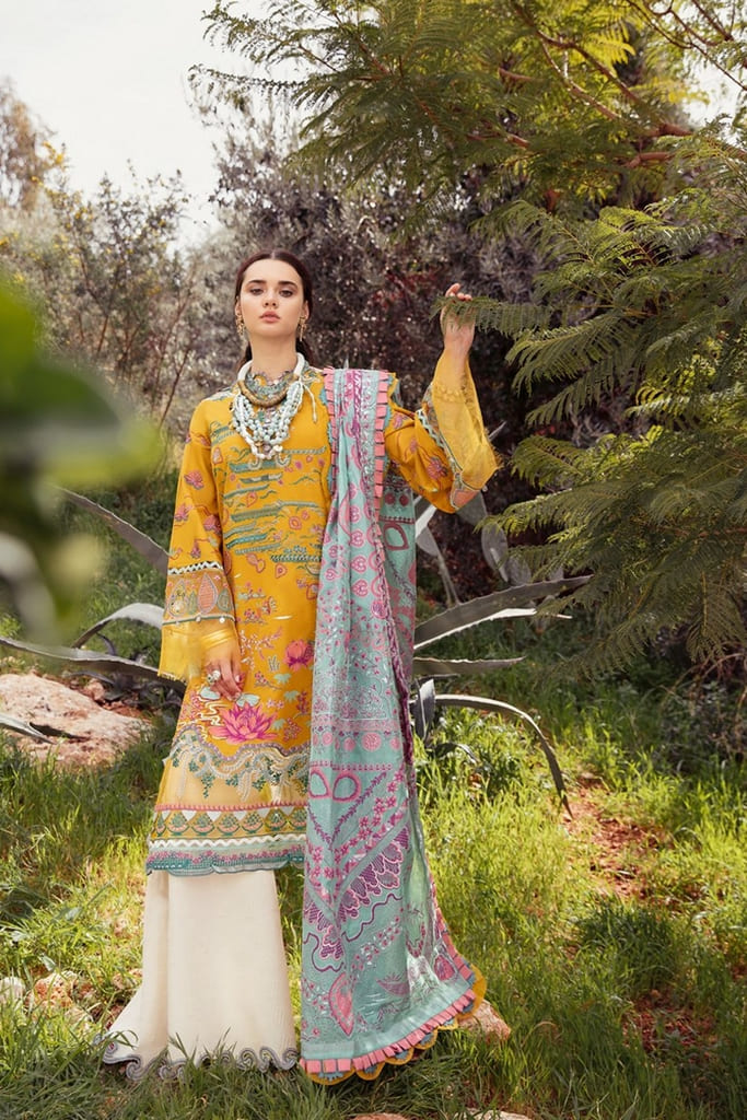 REPUBLIC WOMENWEAR | LUXURY LAWN Collection | NARGIS-B