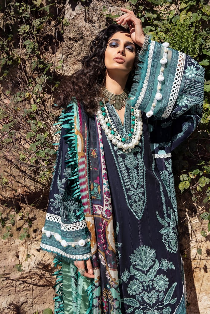 REPUBLIC WOMENWEAR | LUXURY LAWN Collection | EMEL-A