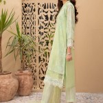 MARIA B | READY TO WEAR CASUAL | Suit Green DW-EF21-15