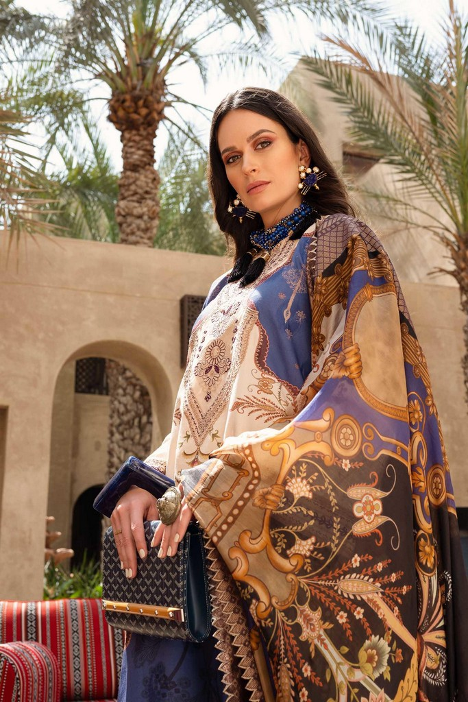 SHIZA HASSAN | LUXURY LAWN COLLECTION 2021 | 6-A MAYA