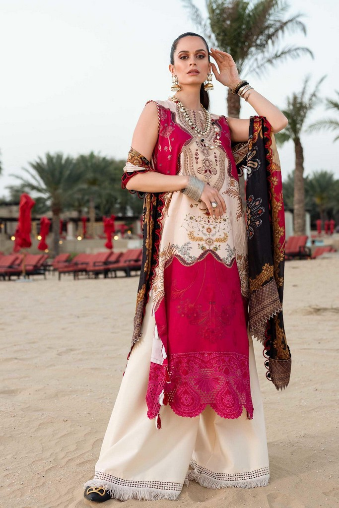 SHIZA HASSAN | LUXURY LAWN COLLECTION 2021 | 6-B MAYA