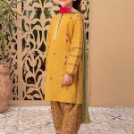 MARIA B | MOMMY N ME | READY TO WEAR | Suit Mustard MKD-EF21-14