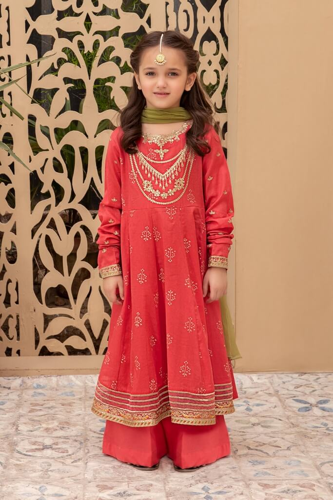 MARIA B | KIDS COLLECTION | Suit Pink MKD-EF21-23