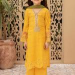 MARIA B | KIDS COLLECTION | Suit Yellow MKD-EF21-26