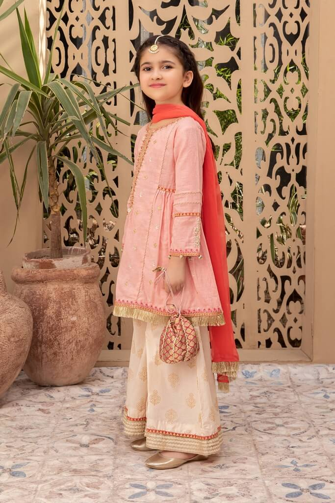 MARIA B | KIDS COLLECTION | Suit Pink MKD-EF21-18