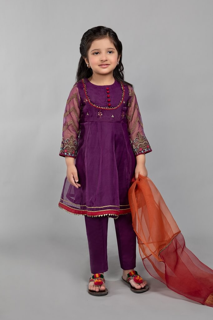 MARIA B | KIDS COLLECTION | Suit Purple MKS-SS21-06