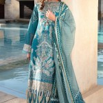 SHIZA HASSAN | LUXURY LAWN COLLECTION 2021 | 4-B NOOR
