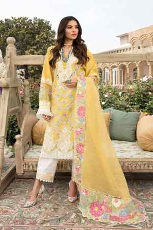 CRIMSON BY SAIRA SHAKIRA | LUXURY SUMMER Collection'21 | 6B AMBER A FLORAL