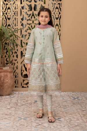 MARIA B | KIDS Collection | Suit Green MKD-EF21-11