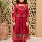 MARIA B | KIDS Collection | Suit Red MKD-EF21-27