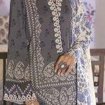 CROSS STITCH | MANZIL KHADDAR & LINEN COLLECTION'21 | IMPERIAL IVORY