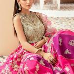 IMROZIA | FORMAL BRIDES COLLECTION'21 | IB-09 Fuchsia Glam