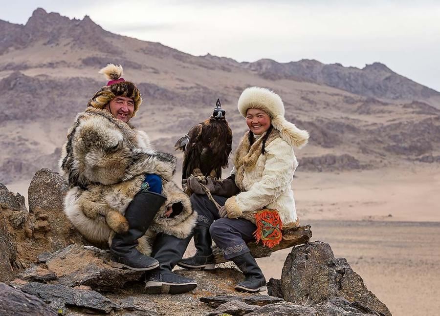 Rosamund Macfarlane, Eagle Huntress Generation – Altai Mountains, Mongolia