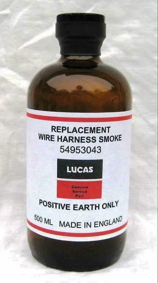 Wire smoke