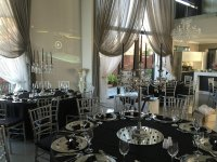 Silver Tiffany Chairs | House of Decor and Events