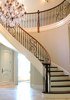 Wrought Iron Panels for Stairs  House of Forgings