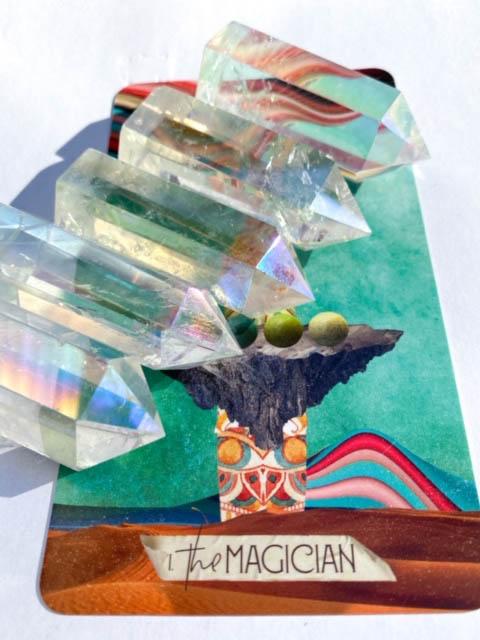 Opal Aura Quartz : quartz, Quartz, Points, House, Formlab