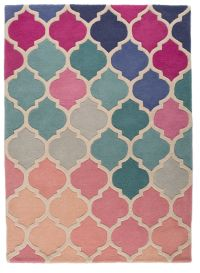 Pink And Blue Rug - Rugs Ideas