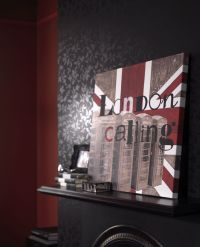Graham & Brown London calling wall art