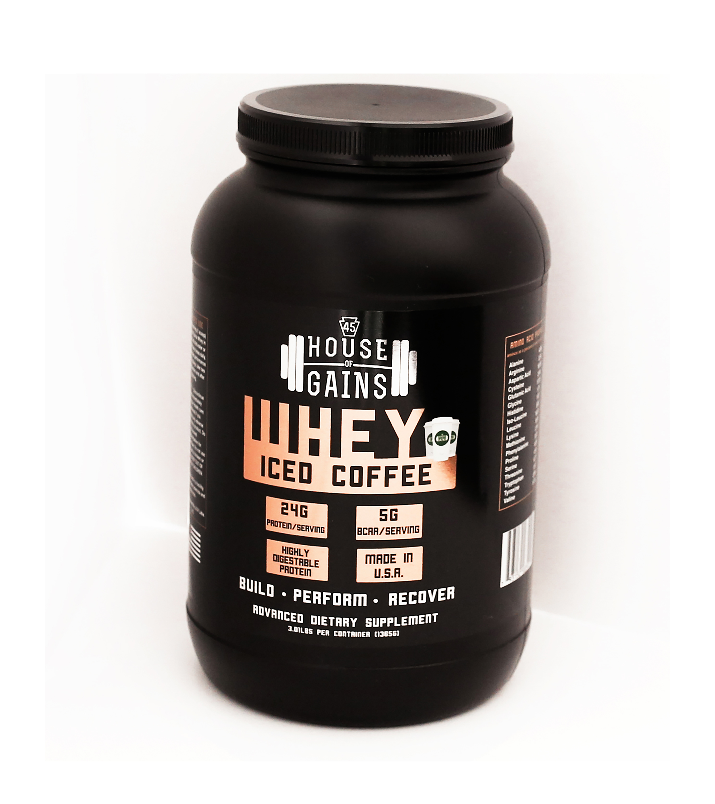 Buy Iced Coffee Flavored Whey Online | House of Gains
