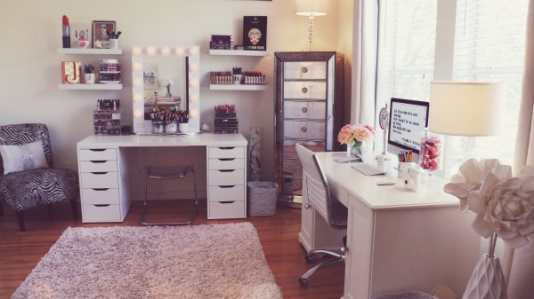 Beauty Room Inspiration And Makeup Organisation