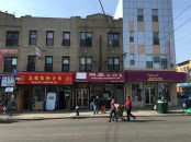 Sunset Park Chinatown Eighth Ave Brooklyn NYC