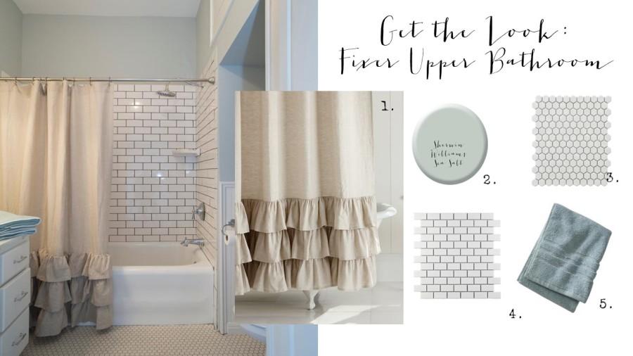 get the look fixer upper bathroom