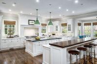 Beautiful White Kitchens - House of Hargrove