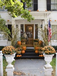Fall Front Porches - House of Hargrove