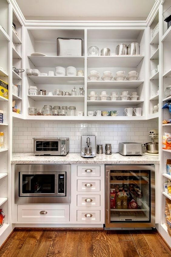 The Most Beautiful Pantries  Butlers Pantries Full of